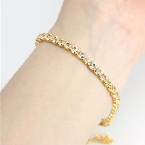 Jewelry - New Item✨ Rhinestone Tennis Bracelet ♥️